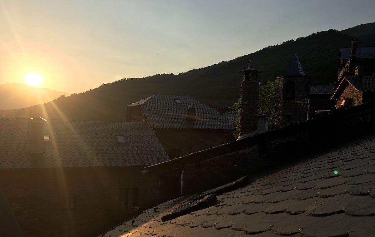 Vistes Refugi Vall de Siarb, Llagunes