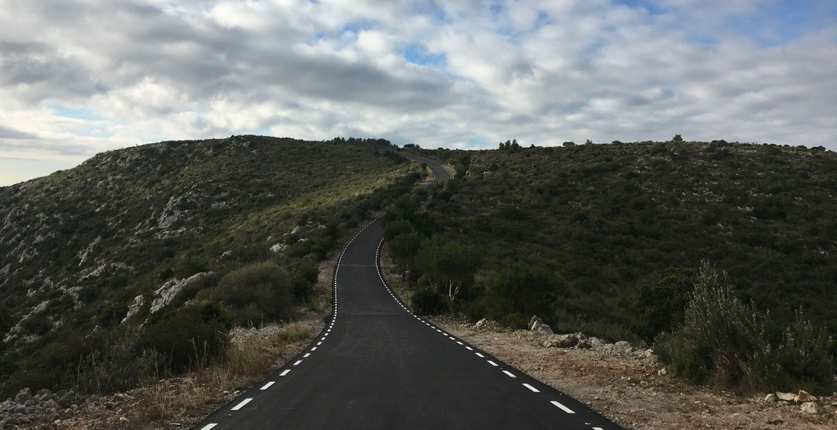 Carretera seca. Excursió al Parc del Garraf