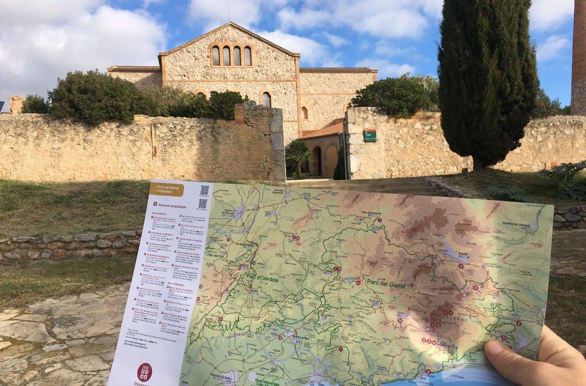 Itineraris Parc del Garraf. La Pleta