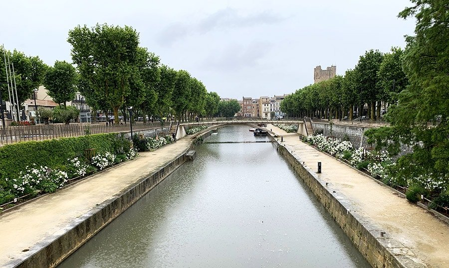 Canal de la Robina, Narbona