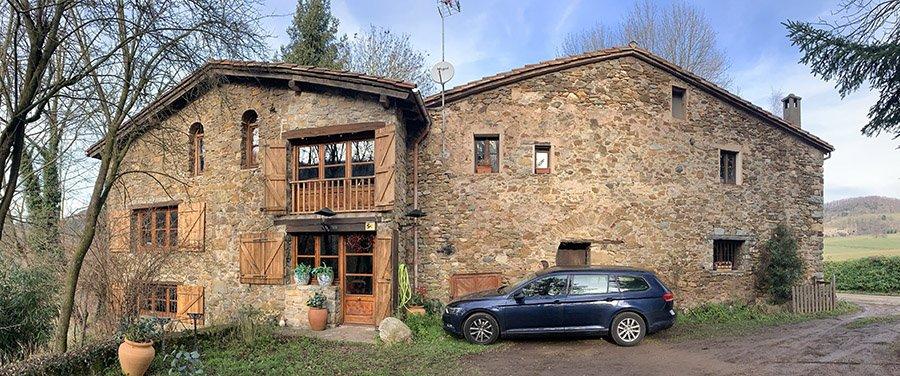 Allotjament a Sant Pau de Segúries, reservat amb airbnb