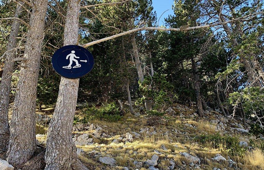 Inici de l'excursió al cim del Pedró de Quatre Batlles