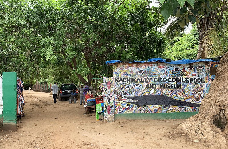 Entrada a Kachikally Crocodile Pool