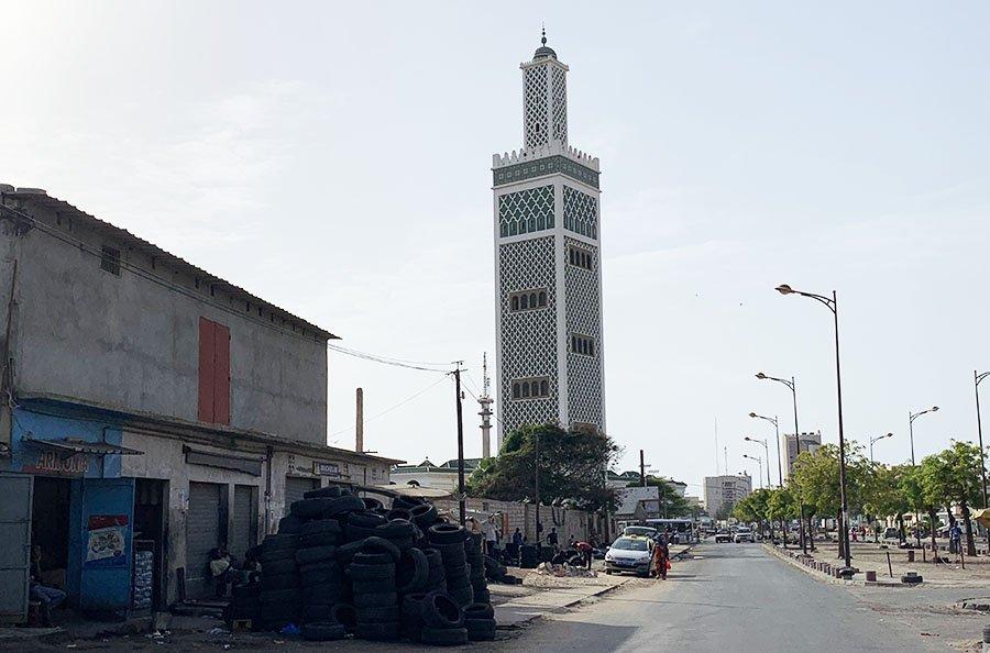 Mesquita Grand Mosquee, Dakar
